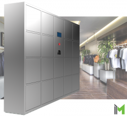 Self-Service Pick-Up Locker Solution by mBOX