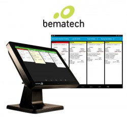 All-in-One Kitchen Display System by Bematech KitchenGo Ticket