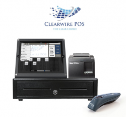 Retail POS System with Scanner by Clearwire POS