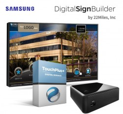 Interactive Digital Directory with TouchPlus+ Software by 22Miles