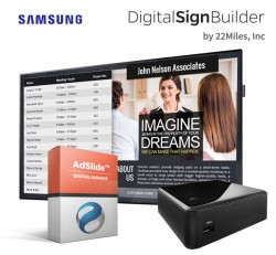 Digital Building Directory Bundle with AdSlide Software by 22Miles