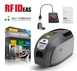 Visitor Management Made Secure by RF IDeas and Jolly Technologies