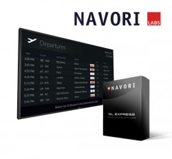 Airport Flight Information Digital Signage Solution by Navori