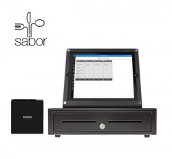 Quick Service Restaurant Point of Sale System for Windows 10 by Sabor POS