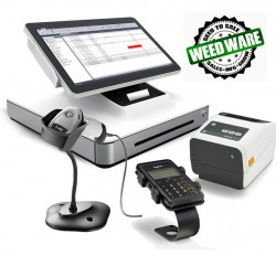 Cannabis Dispensary Point of Sale Solution by WeedWare