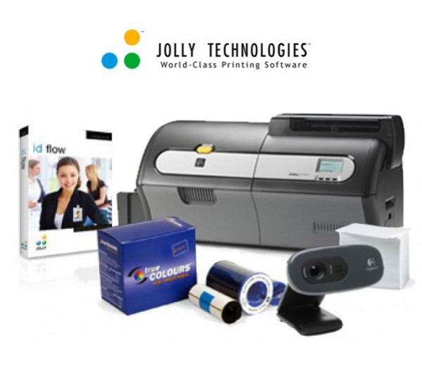 jolly technologies id badge creation solution for universities