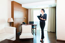 Concierge at a Hotel