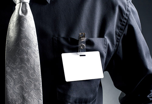 ID Security badge