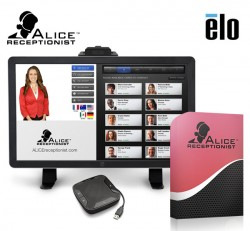 Visitor Management Solution by ALICE Receptionist