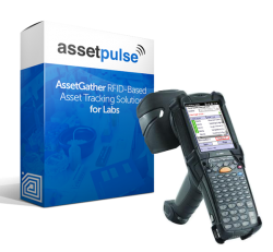Handheld RFID Lab Tracking Solution by AssetPulse
