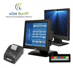 Quick Service Point of Sale and Kitchen Display System by eZee