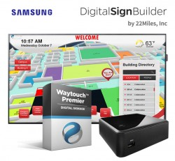 Campus Digital Wayfinding with Waytouch Premier Software by 22Miles