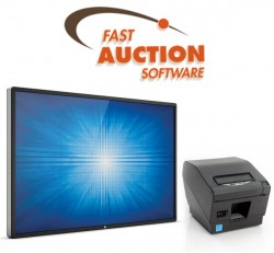 Fast Auction Software by Reference Systems