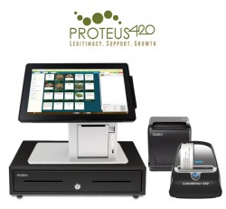 Cannabis Dispensary Point of Sale and Inventory Management Solution by Proteus420