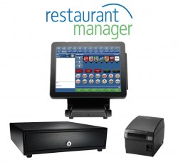 Restaurant Table Service Point of Sale by Restaurant Manager
