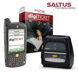 Handheld eCitation Solution for Police Departments by digiTICKET