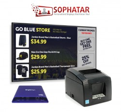 Transaction-Driven Digital Signage Solution by Sophatar