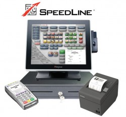 Pizzeria Point of Sale System with Customizable Delivery Pack by SpeedLine Solutions