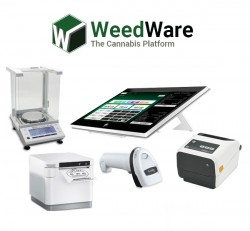 Android Cannabis Dispensary Point of Sale Solution by WeedWare