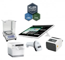 Android Cannabis Dispensary Point of Sale Solution by KLĒR