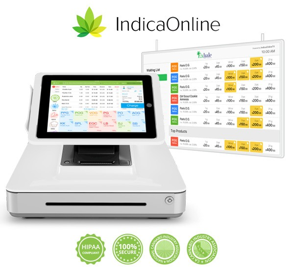 Medical Marijuana Dispensary Point of Sale & Digital Menu Board