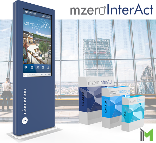 Kiosk Digital Signage Solution by MzeroInterAct
