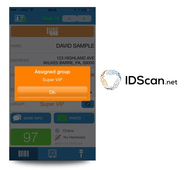 ID Verification for Bars & Nightclubs by IDScan net